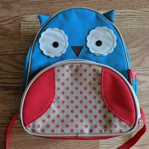 Skip Hop Zoo Otis Owl backpack